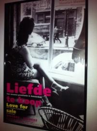 Poster Amsterdams historisch museum Liefde te koop/ Love for sale Cor Jaring