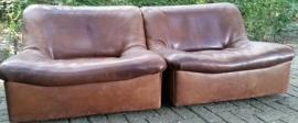 Vintage design De Sede DS46 lounge chairs/sofa