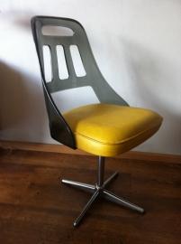 Vintage eettafel/bureau stoel jaren 60, Vintage diner table or desk chair 60`s