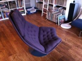 Design Artifort F588 Geoffrey Harcourt jaren 70 fauteuil