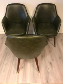 Jaren 50 vintage design executive chair