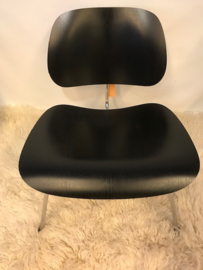 Ray and Charles Eames LCM lounge chair produced by Vitra vintage 1981