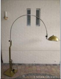Zeldzame vintage mid-century vloerlamp /  Rare vintage mid-century arc floor lamp