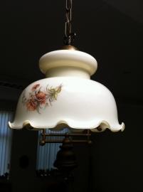 Art-deco jaren 50 hanglamp/ Art-deco 50`s ceiling lamp