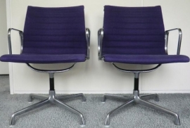 Originele vintage Herman Miller Eames EA 107 chair