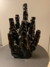 Design Pols Potten Coral vase 10 black