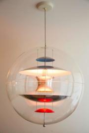 Design vintage Verner Panton Globe lamp Frandsen