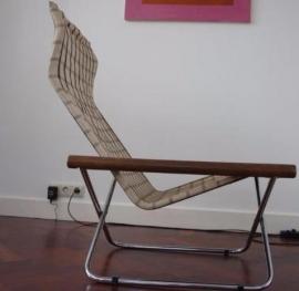Retro NY Canvas sling chair Takeshi Nii