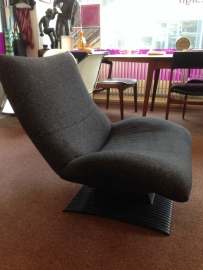 Vintage design Wave lounge chair design Peter van der Ham for Artifort