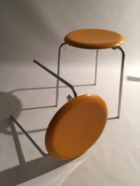 Arne Jacobsen Dot Stool black or yellow  for Fritz Hansen
