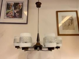 Vintage jaren 60 Raak Zonnewende lamp