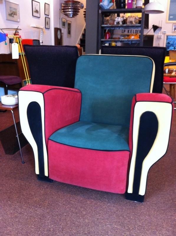 Design HIPHOP fauteuil van Peter van Zoetendaal voor Dutch Seating Compagny
