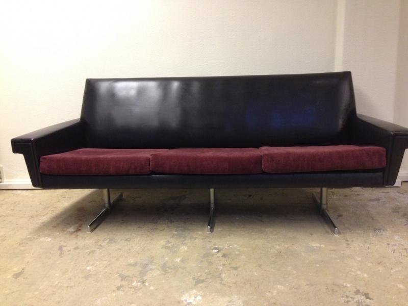 Retro Leren Bank.Sold Sofa S 3 Repop Apeldoorn