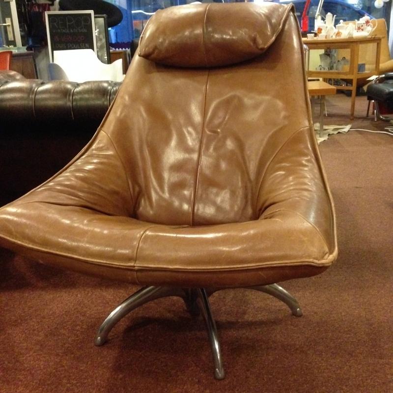 1970's vintage design lounge chair by Gerard van den Berg for Montis