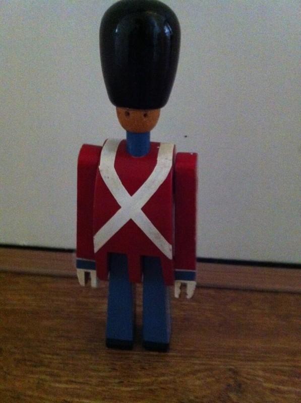 Kay Bojesen houten soldaatje / Kay Bojesen wooden soldier