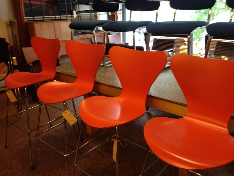 Retro design Arne Jacobsen Bar Stools Fritz Hansen
