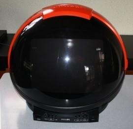 Philips helm televisie jaren 80/Philips Helmet television 80`s