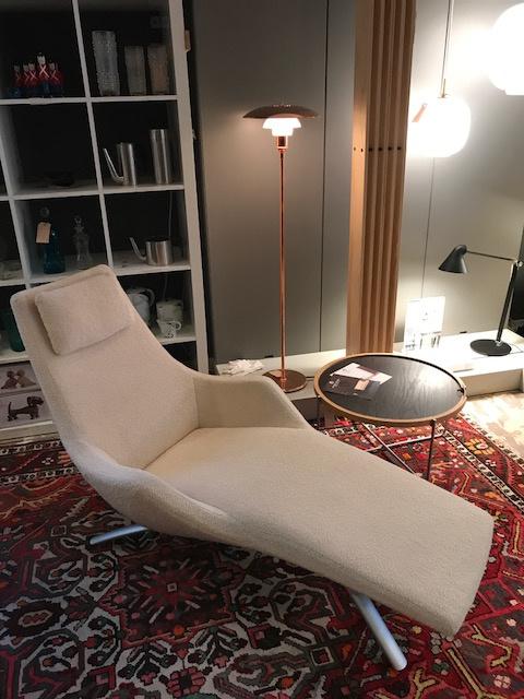 Vintage design Rolf Benz chaise longue