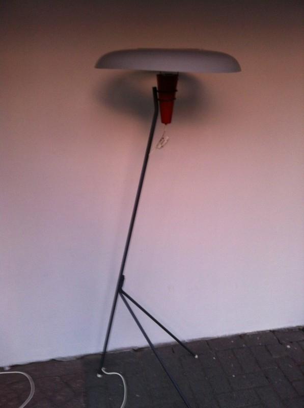 Louis Kalff NX 38 vloerlamp Philips jaren 50