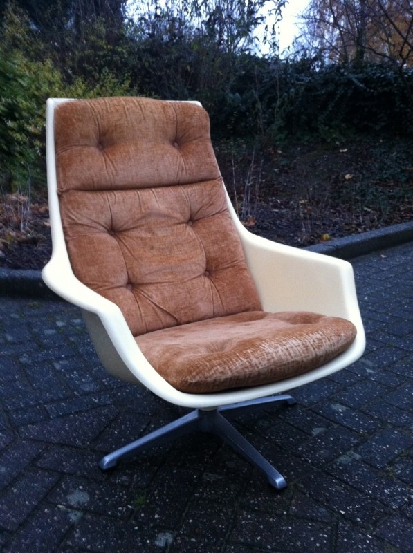 Robin Day vintage jaren 60 space age lounge chair