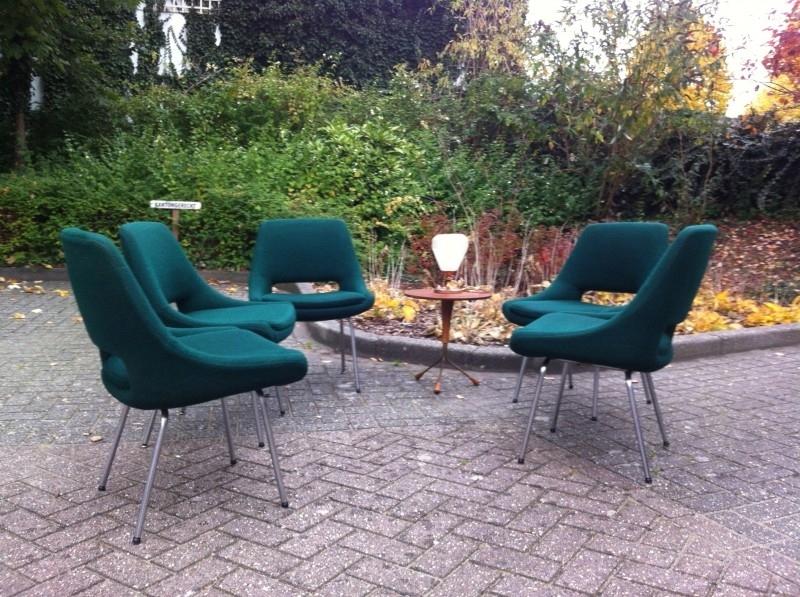 Jaren 60 vintage Cees Braakman Pastoe stoelen / 60`s Cees Braakman Pastoe chairs