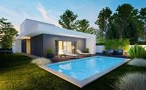 Nieuwbouw villa +  privé-zwembad € 274.000 incl BTW