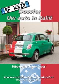 Dossier Uw auto in Italie (PDF)
