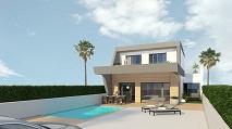 Costa Blanca Zuid | Rojales | Nieuwbouw villa met zeezicht |  € 449.500,--