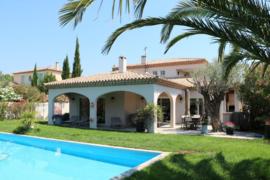 Hérault | Pézenas |  villa op golfbaan |  vraagprijs € 870.000,-
