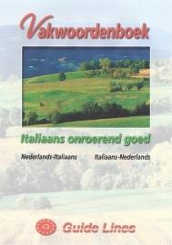 Vakwoordenboek Italiaans onroerend goed