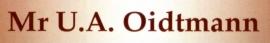 Mr. U.A. Oidtmann (oud notaris)