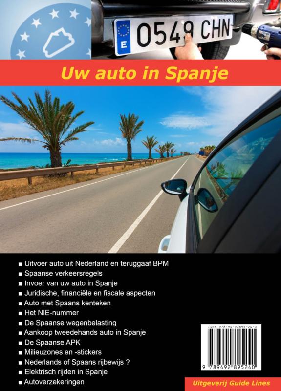 Handboek Uw auto in Spanje