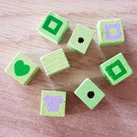 Vierkantjes Groen