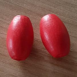Ovale Kraal Rood