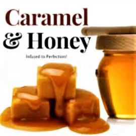 Geurolie voor Kaarsen & Zeep - Caramel & Honing