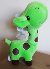 Pluche Giraffe 18 cm - Groen