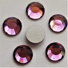 Amethyst Purple - SS30 Flat Back