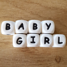 Siliconen Letters: BabyGirl