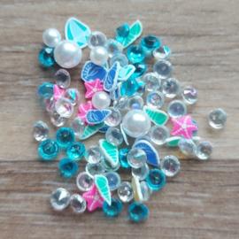 Mix Diamant Blauw