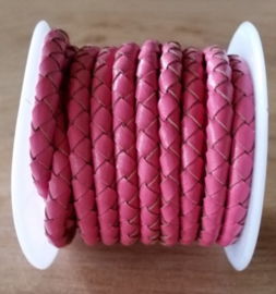 Hot Pink - 5 mm - 4 draden