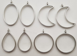 Set:1  Silver Plated