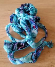 Lila - Fuchsia - Turquoise - Blauw