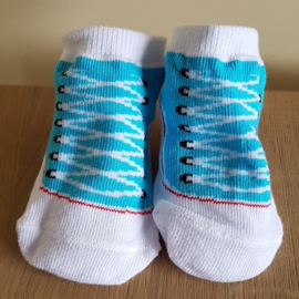 Sneaker sokjes - Blauw