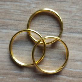 Ring 20 mm - Goud