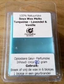 Turquoise - Lavendel & Vanille