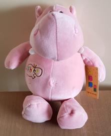 Pluche Nijlpaard - Roze
