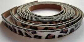 Leopard Print Silver Brown