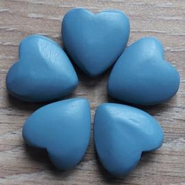 Hart - Blauw - 22 mm