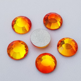 Fire Opal Orange - SS34 Flat Back