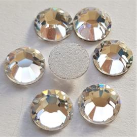 Crystal Silver Shade - SS30 Flat Back
